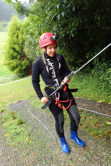 Fine tuning our Abseiling skills