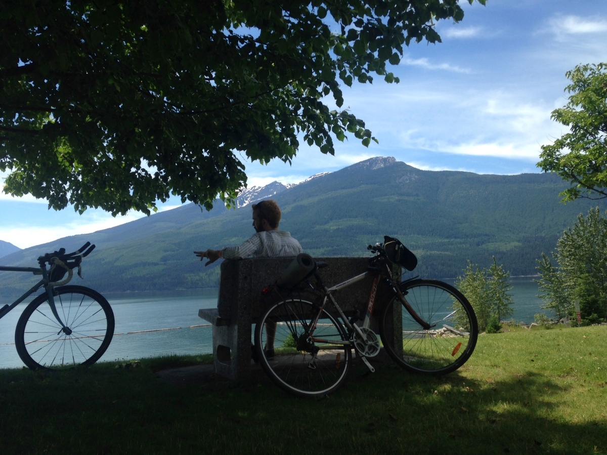 Bike touring Canada: Kamloops to Calgary (Day 1-7)